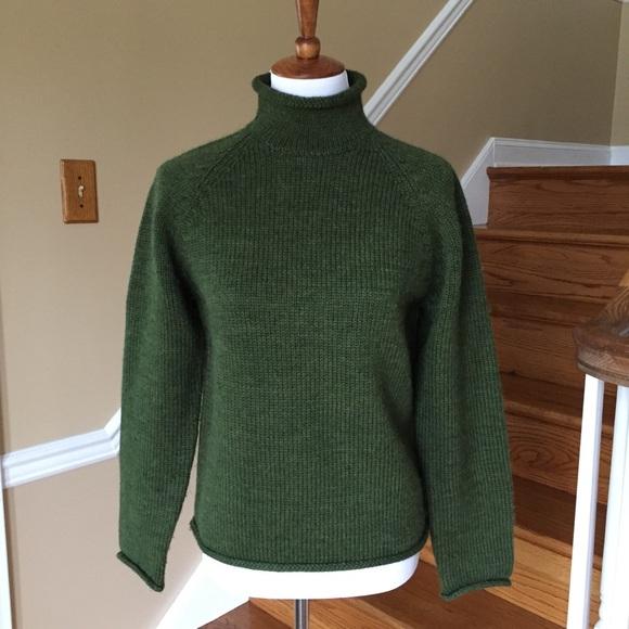 Vintage J Crew Wool Rollneck Sweater
